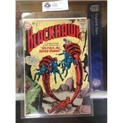 """DC Comics  Blackhawk. In Plastic Bag on White Board No. 181"""" Ultra, The Super Robot"""""""
