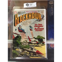 "DC Comics  Blackhawk. In Plastic Bag on White Board No. 164"" The Twin Creatures of Blackhawk Island"""