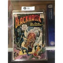 "DC Comics  Blackhawk. In Plastic Bag on White Board No. 157 "" The Film Managerie"""