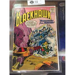 "DC Comics  Blackhawk. In Plastic Bag on White Board No. 136  ""Marauders From Mercury"""