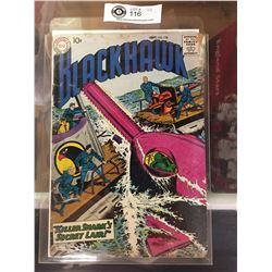 "DC Comics  Blackhawk. In Plastic Bag on White Board No. 121  ""Killer Sharks Secret Lair"""