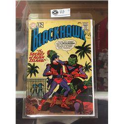"DC Comics  Blackhawk. In Plastic Bag on White Board No. 171  ""The Secret of Alien Island"""