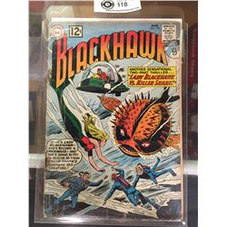 "DC Comics  Blackhawk. In Plastic Bag on White Board No. 170 ""Lady Blackhawk vs Killer Shark"""