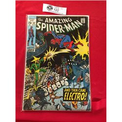 Marvel Comics The Amazing Spiderman No. 42 In Plastic Bag on White Board