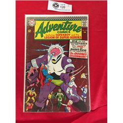 DC Adventure Comics Featuring Superboy and The Legion of Superheros No. 353 In Plastic Bag on White