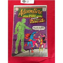 DC Adventure Comics Featuring Superboy and The Legion of Superheros No. 357 In Plastic Bag on White