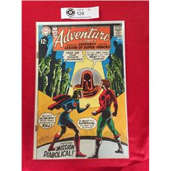 DC Adventure Comics Featuring Superboy and The Legion of Superheros No. 372 In Plastic Bag on White