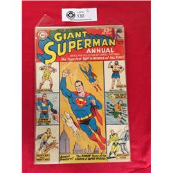 DC Comics Giant Superman Annual No.6 In Plastic Bag on White Board