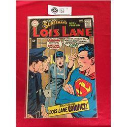 DC Comics Superman's Girlfriend Lois Lane  No 84 In Plastic Bag on White Board