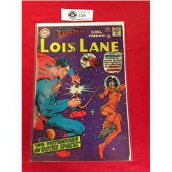 DC Comics Superman's Girlfriend Lois Lane  No 81 In Plastic Bag on White Board