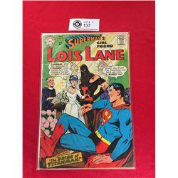 DC Comics Superman's Girlfriend Lois Lane  No 79 In Plastic Bag on White Board