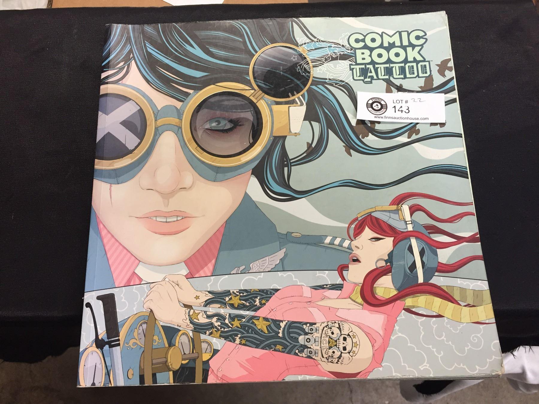 Comic Book Tattoo Coffee Table Book