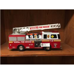Tonka Rescue Force Fire Truck. Working. Missing Battery Cover