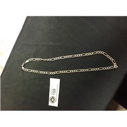"20"" Sterling Silver Chain Necklace 20 grams"