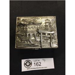 Vintage Asian Box 3.25 x 2.5 x 1.5