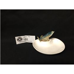 Vintage Made in Japan Fish Ashtray/Small Plate 4w x 2.25  H