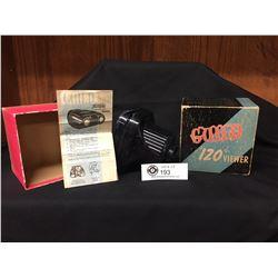 Vintage Craftsmens Guild 120 Viewer In Original Box with Paperwork