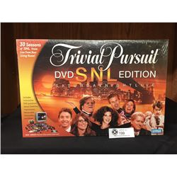 New Sealed in the Package Parker Brothers Trivial Pursuit Board Game. DVD. Saturday Night Live Editi