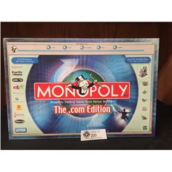Parker Brothers Monopoly Board Game NEW Sealed in Box. .Com Edition