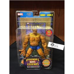 Marvel Legends. The Thing Comic Book. Series II (2) Factory Sealed