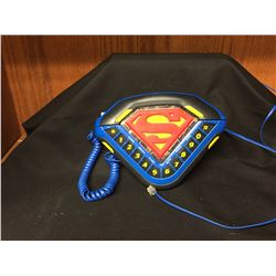 Good Working Condition Superman Telephone