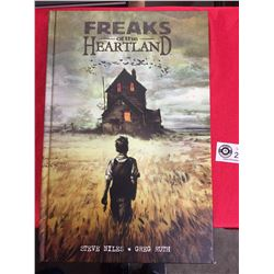 Freaks of the Heartland Hard Cover Book by Steve Niles and Greg Ruth