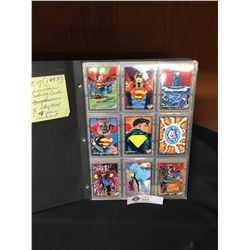 Set of 1993 Superman Trading Cards 1-99 Plus the Checklist