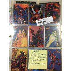 1992 1-100 Marvel Masterworks Trading Cards Plus 1997 Fleer Trading Cards. Spiderman Masterpieces