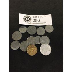 WWII Nazi German Third Reich Coins
