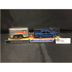 Uhaul Trim Line Trailer and Car. Still in Original Package