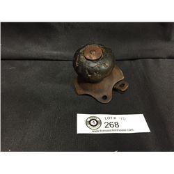 Vintage Wooden Steering Wheel Spinner. Suicide Knob