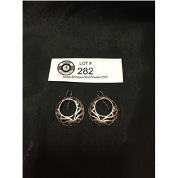 Lovely Celtic Sterling Silver Earrings