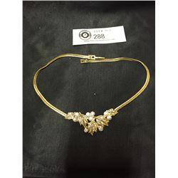 Good Quality 1950's Rhinestone Necklace