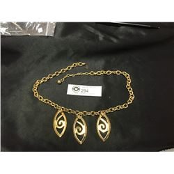 Heavy Quality 1970's Gold Plated Necklace
