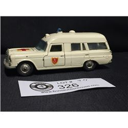 "Vintage Matchbox King Size No. K-6 Mercedes Benz "" Binz"" Ambulance"