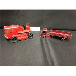 2 Die Cast Dinky Toys As Found