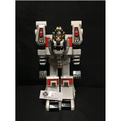 "White Tiger Zord Power Ranger Robot 1994. 11"" Tall"