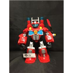 "Transformers Inferno Firefighter 9"" Tall"