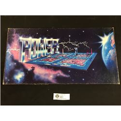 Vintage Power The Game.. Military Stratagey Board Game