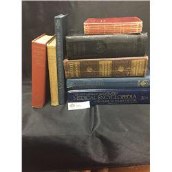 Nice Lot of Antique/Vintage Medical Books 1907-1988