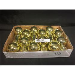 """12 Brass Knobs 2.5"""" w x 4""""h"""