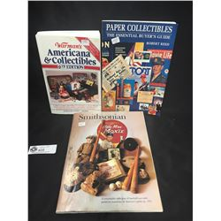 3 Books on Collectibles