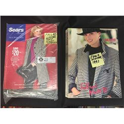 2 Sears Catalogues 1991 Fall/Winter and Unopened 2005 Fall/WInter