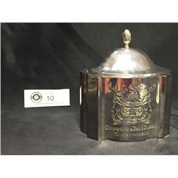 Hudson's Bay Company 325 Years Commemorative Silver Plate Box with Lid