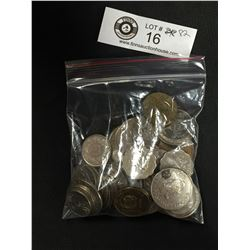 Small Bag of World Coins