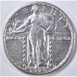 1920-D STANDING LIBERTY QUARTER AU/BU
