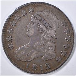 1812 BUST HALF DOLLAR XF
