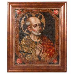 Spanish Colonial retablo