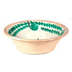 Spanish ceramic lebrillo