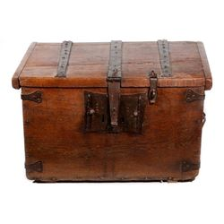 A Spanish Colonial chest.